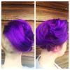 Pulp Riot Velvet hair color and cut by Allie