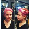 Vivids hot pink color by Allie